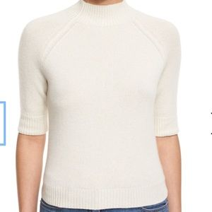 Theory Jodi B Cashmere Mock neck sweater size S